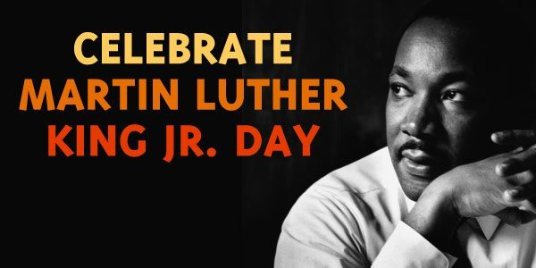 Happy Martin Luther King Jr Day Pyramid Books
